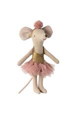 MAILEG Studio de danse et sa ballerine Rose poudré