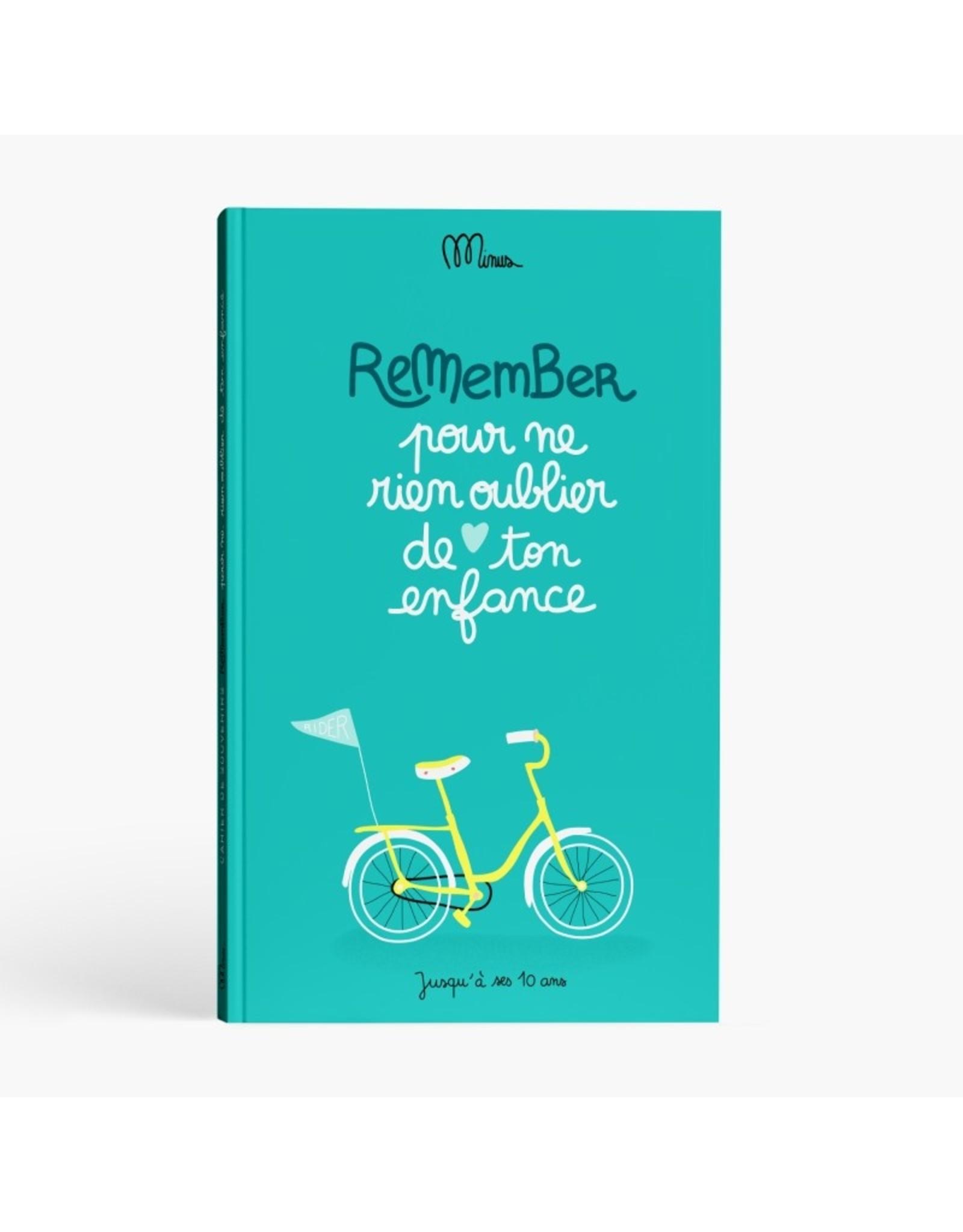 Minus édition Pour ne rien oublier de ton enfance