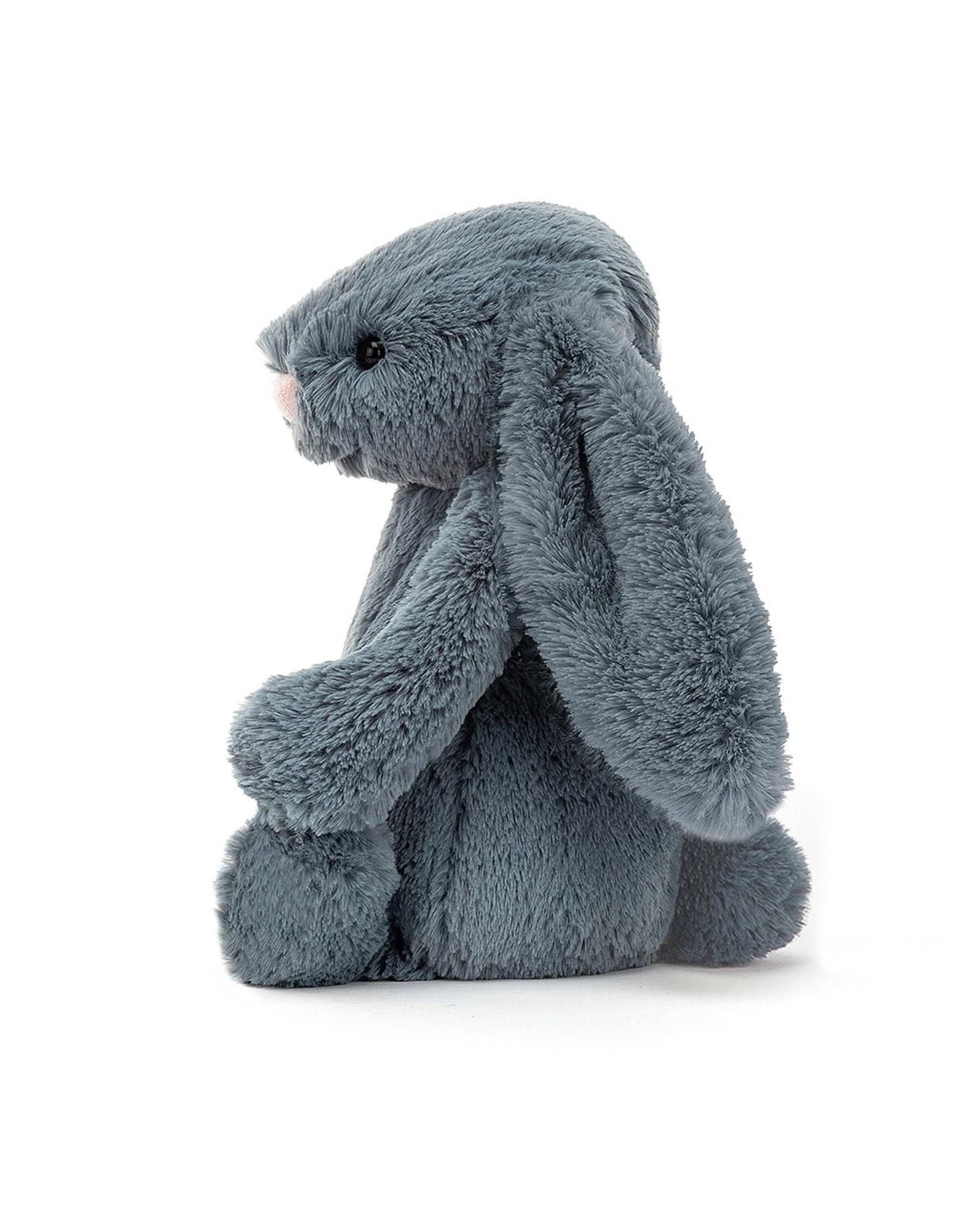 Jellycat Bashful bunny  Dusky Blue - Medium