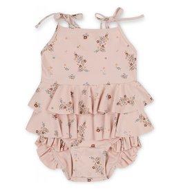 Konges Slojd Manuca Baby swimsuit - Nostalgie Blush