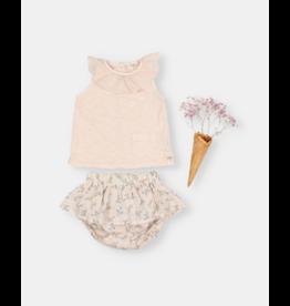 Buho T-shirt Frill - Rose