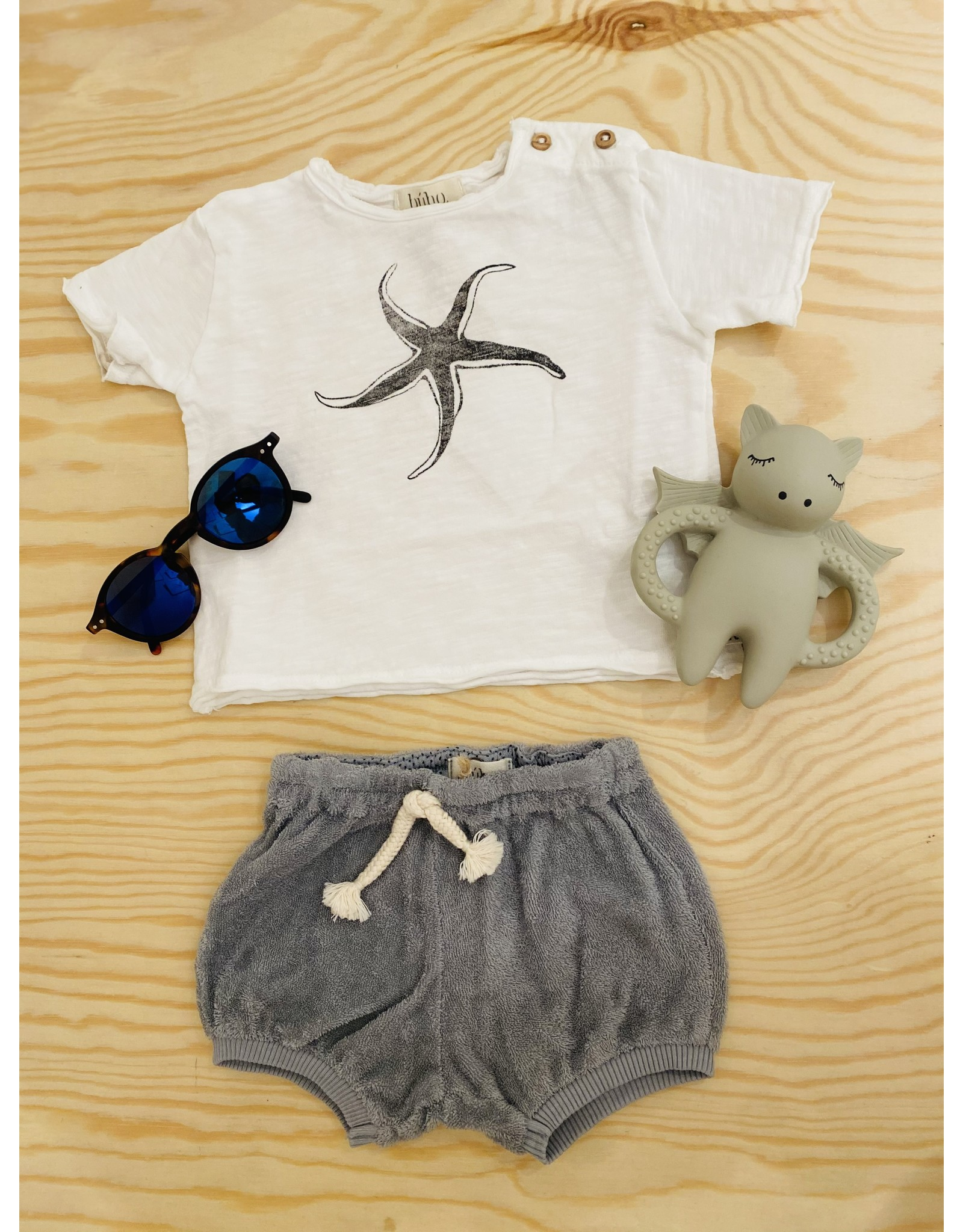Buho T-shirt Starfish  - Blanc