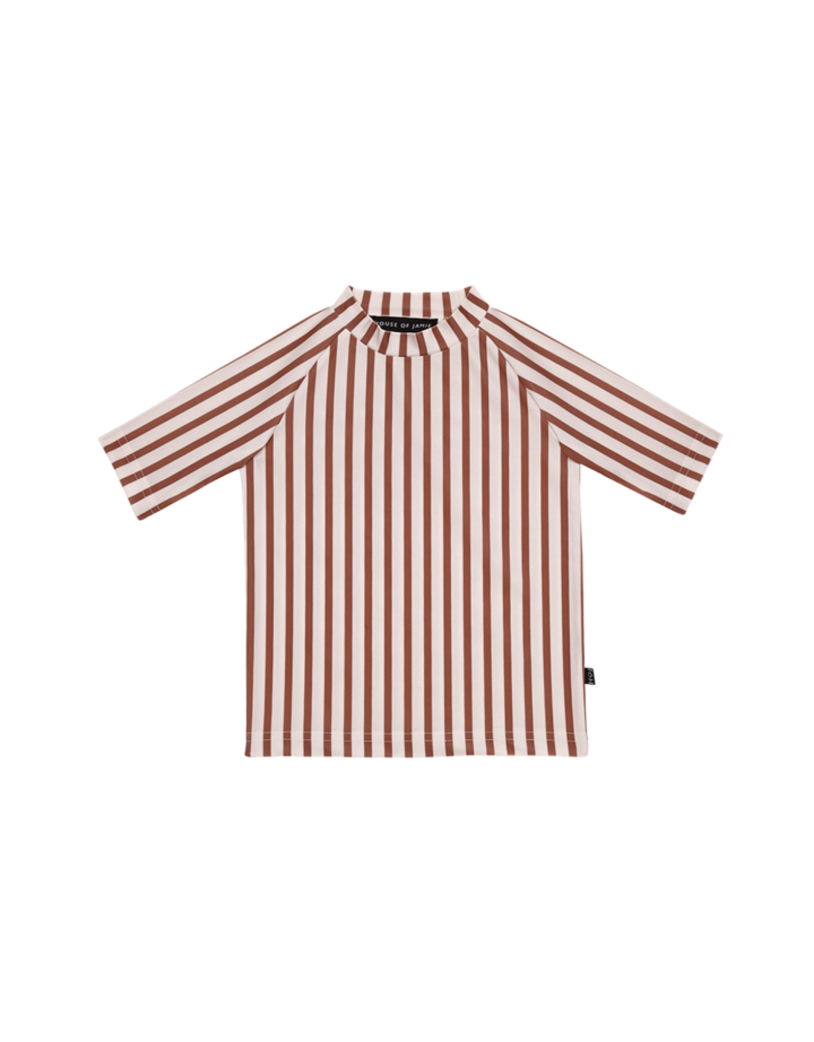 House Of Jamie T-shirt de plage UV - Clay stripes - House of Jamie