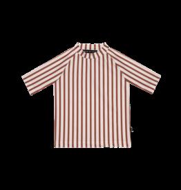 House Of Jamie T-shirt de plage UV - Clay stripes
