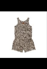 Little Indians Combinaison short Zebra - Fondue Fudge
