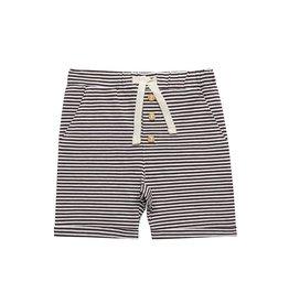 Little Indians Short à rayures  - brown stripe