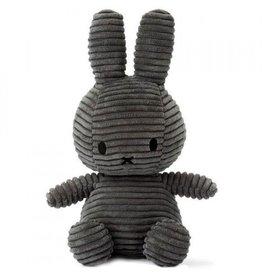Nijntje Miffy velours côtelé small - gris