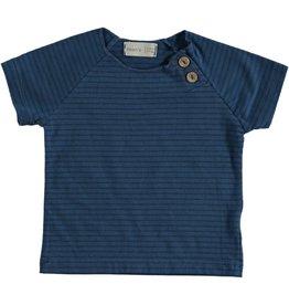 Bean's T-shirt ligné Clownfish - bleu
