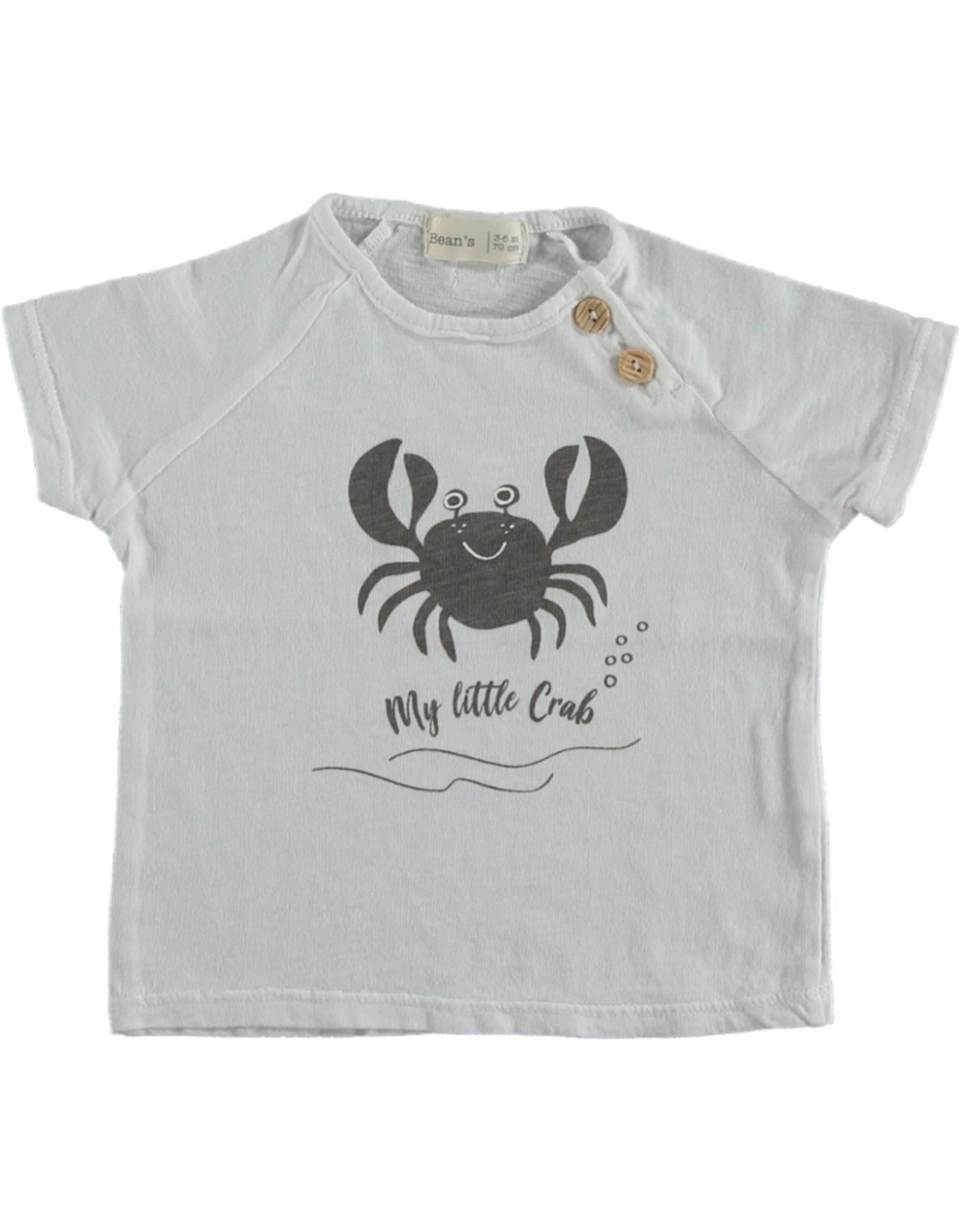 Bean's T-shirt crabe Clownfish - blanc
