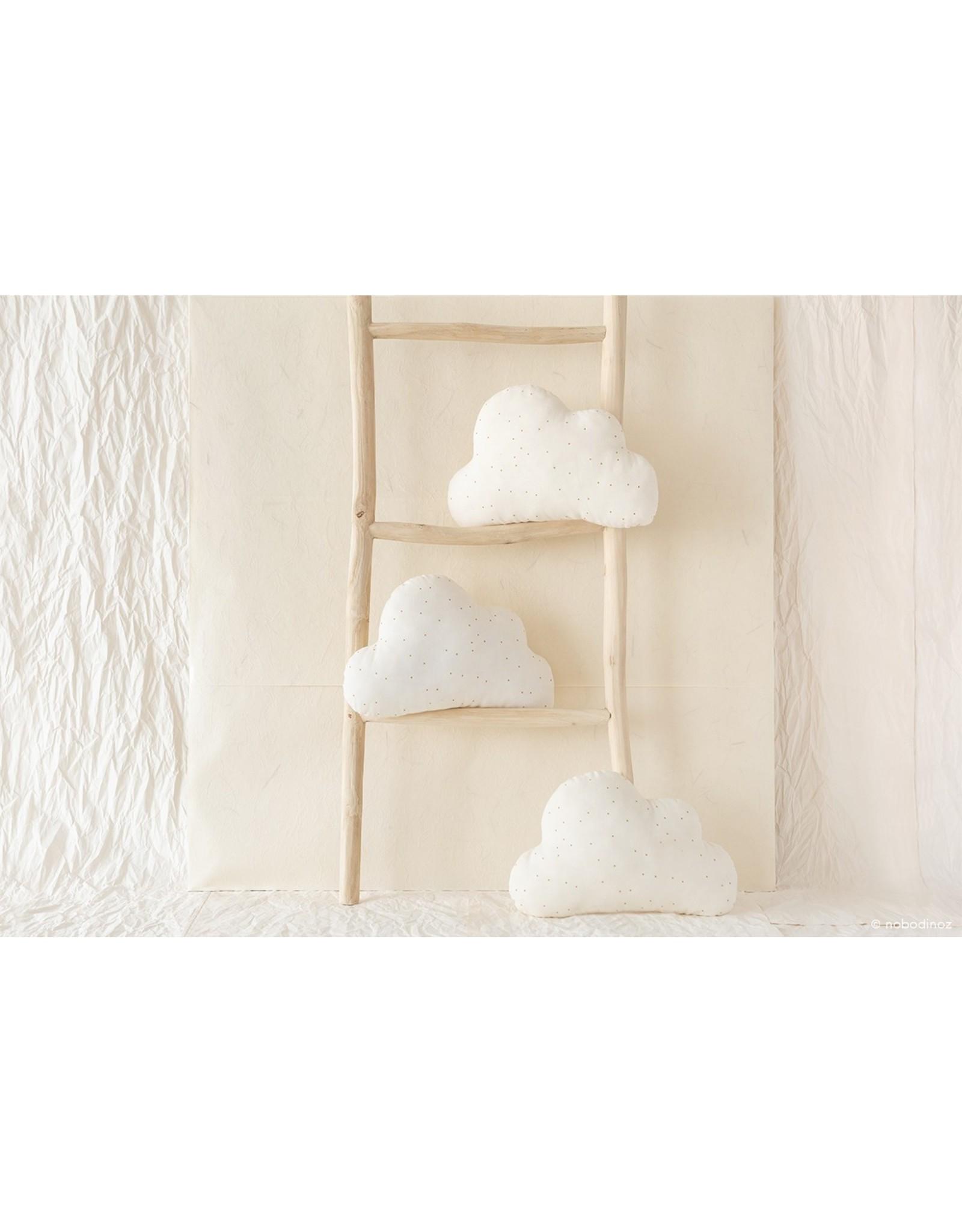 nobodinoz Coussin nuage - Honey sweet dots