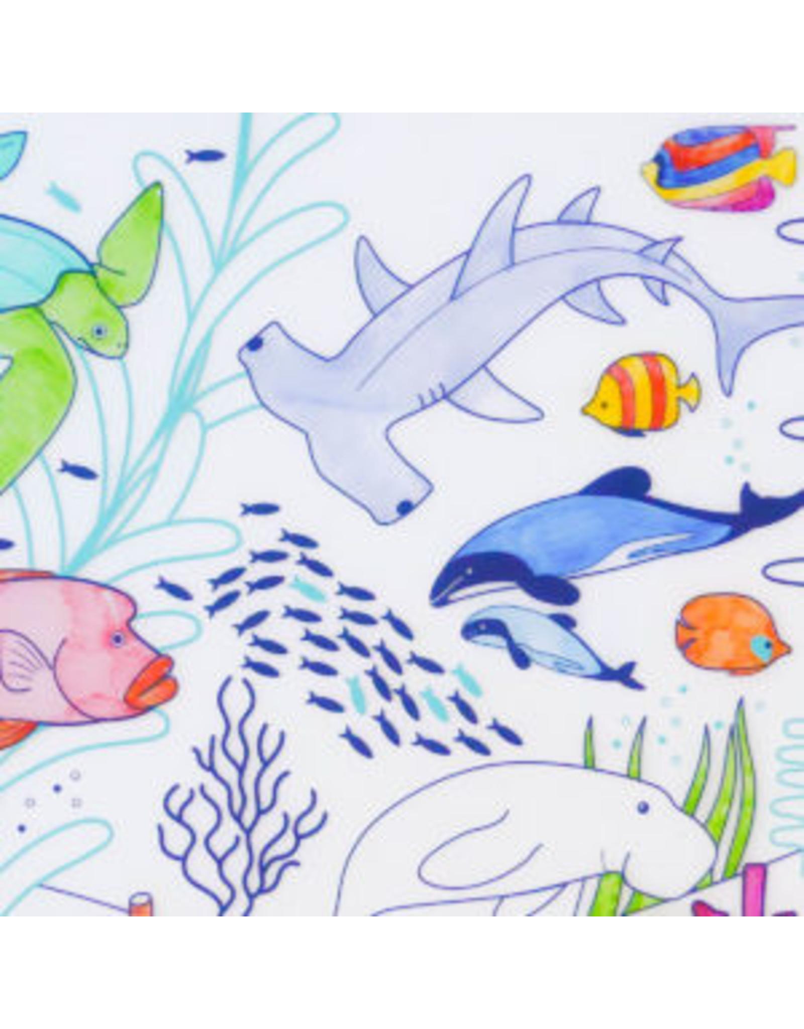 Superpetit Set de table à colorier Grande barrière de corail