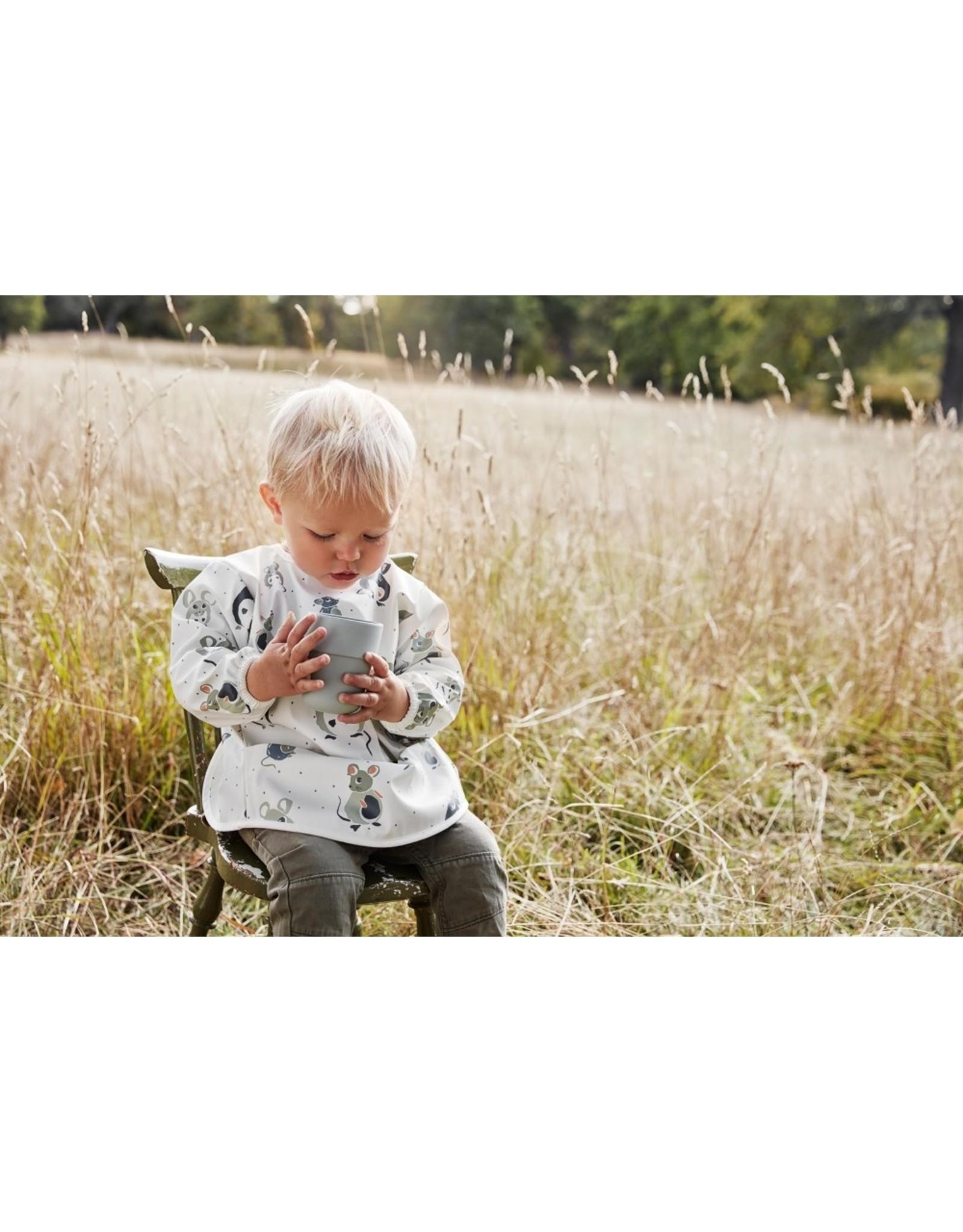 Elodie Details Bavoir longues manches - Forest Mouse