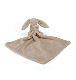 Jellycat Doudou lapin Bashful beige soother