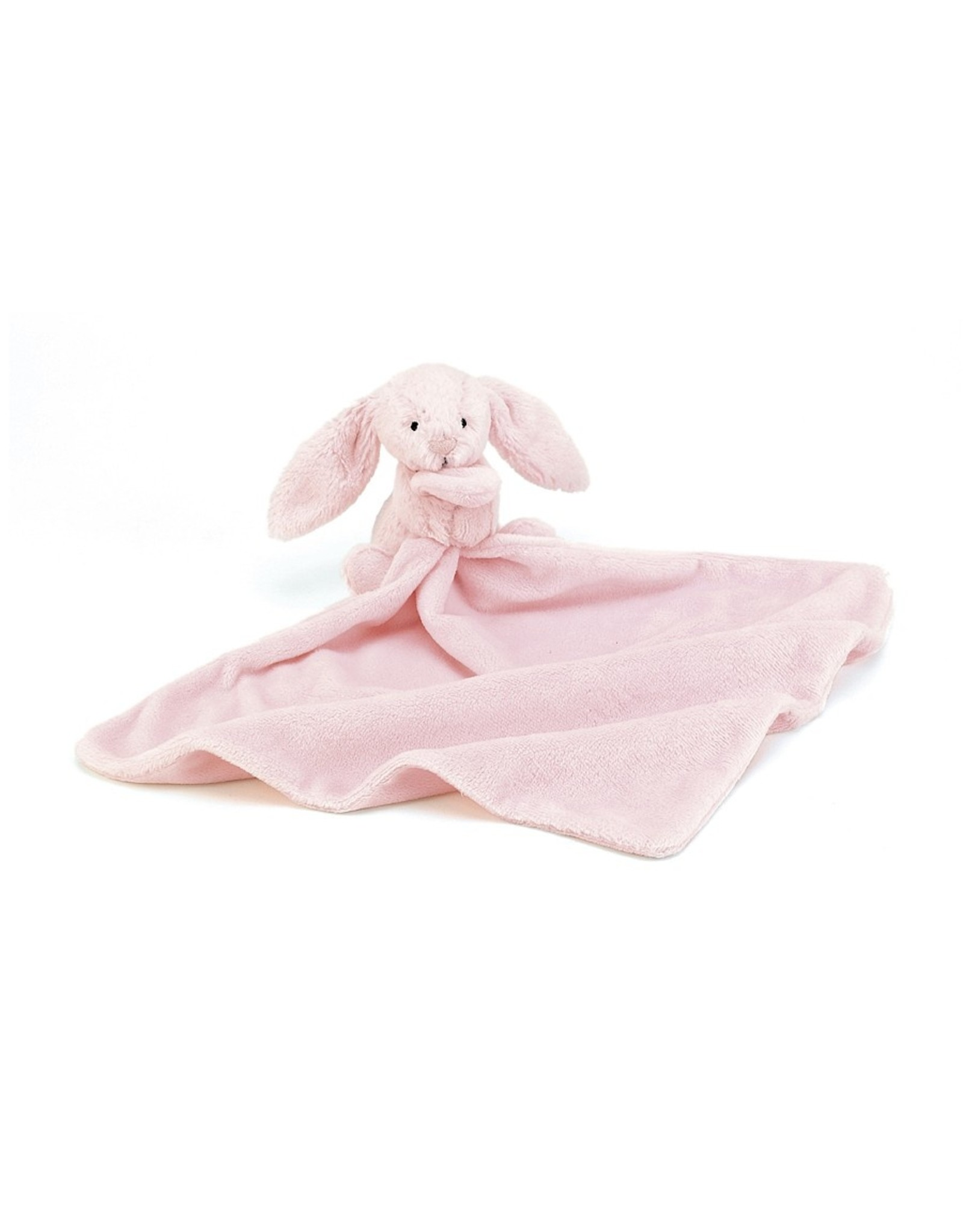 Jellycat Doudou lapin Bashful rose soother