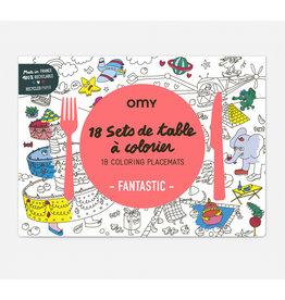 Omy Set de table - Fantastic