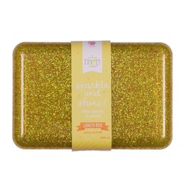 A Little Lovely Company Lunch box glitter or