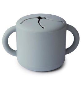 Mushie Snack cup - stone