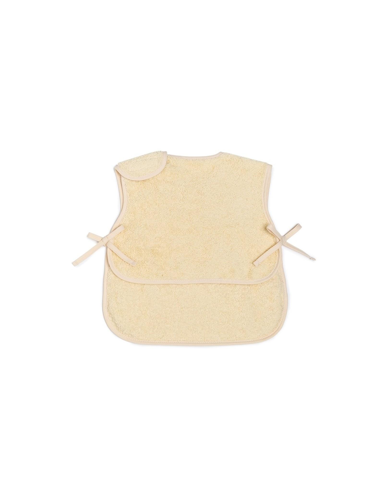 nobodinoz Bavoir-tablier So Cute - 6/18 mois  - Vanilla