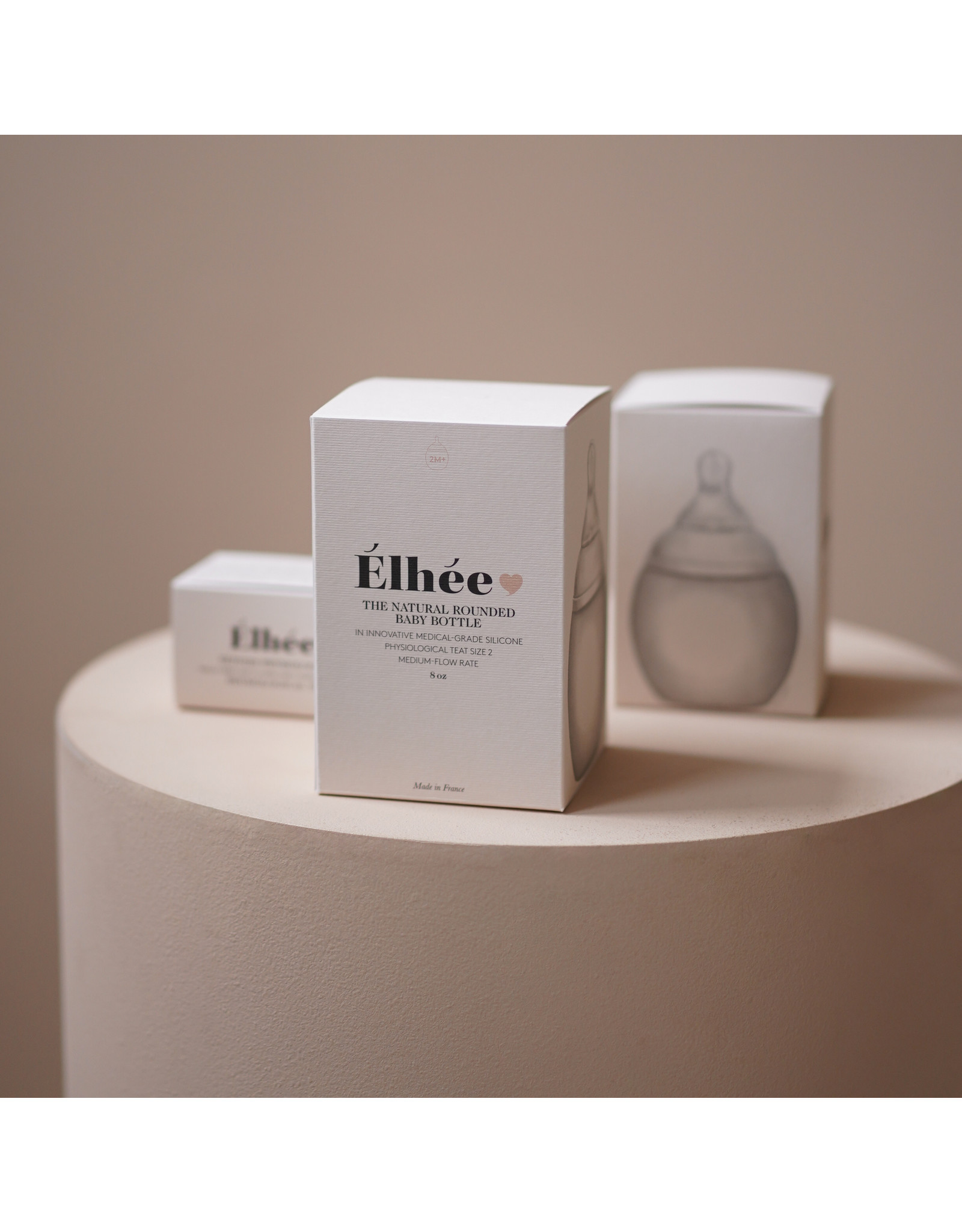 Elhee Biberon 150 ml Nude