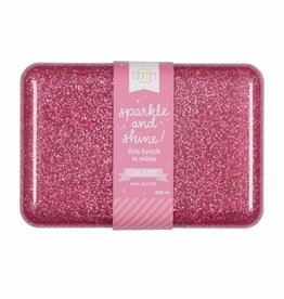 A Little Lovely Company Lunch box glitter rose