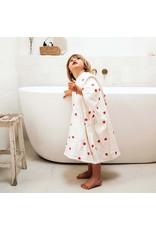 Rose in april Poncho de bain suzon S 1-3 ans - Coeur