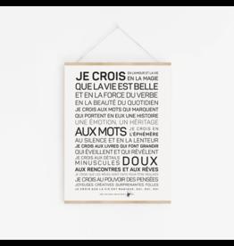 Les Mots à l'affiche Affiche - La Vie est belle
