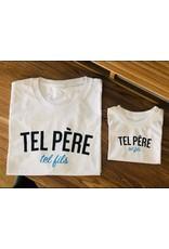 La Source T-shirt enfant - blanc - TEL PÈRE Tel fils