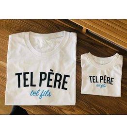 La Source T-shirt homme - blanc - TEL PÈRE Tel fils