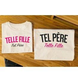 La Source T-shirt enfant - blanc - TEL PÈRE Telle fille