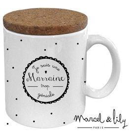 Marcel & Lily Mug - Marraine trop géniale