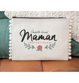 Manahia Pochette pompom maman merveilleuse