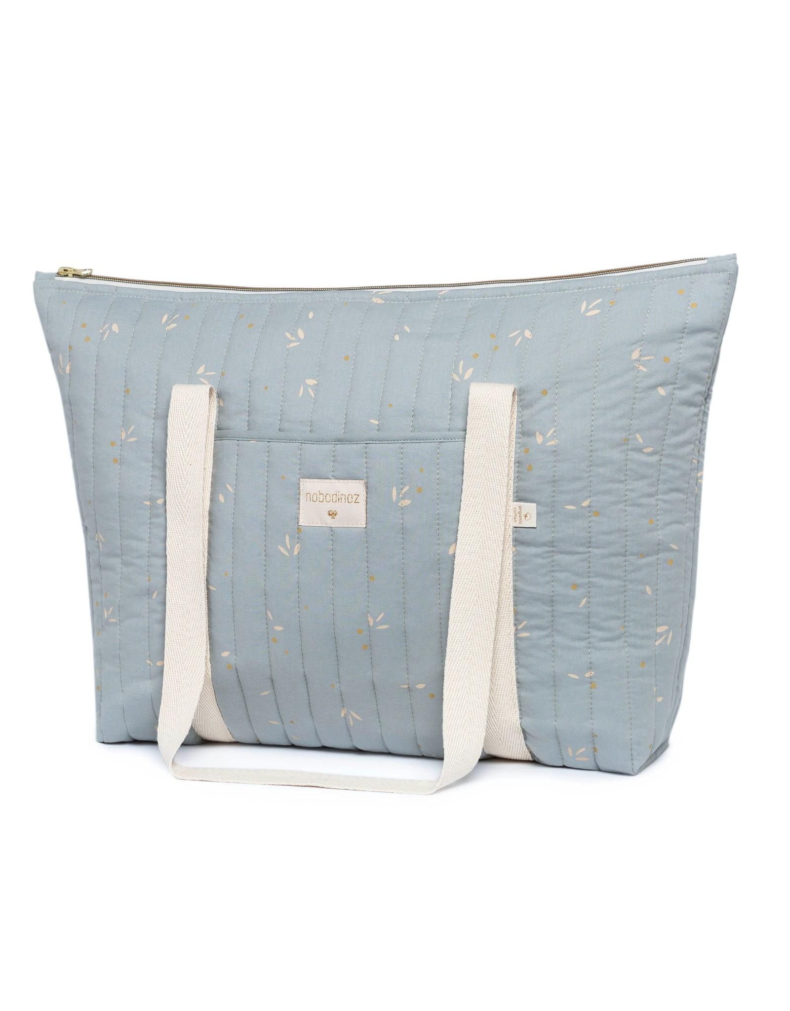 nobodinoz Le sac à langer Paris - Willow Soft Blue