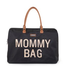 Childhome Mommy bag Noir écriture dorée