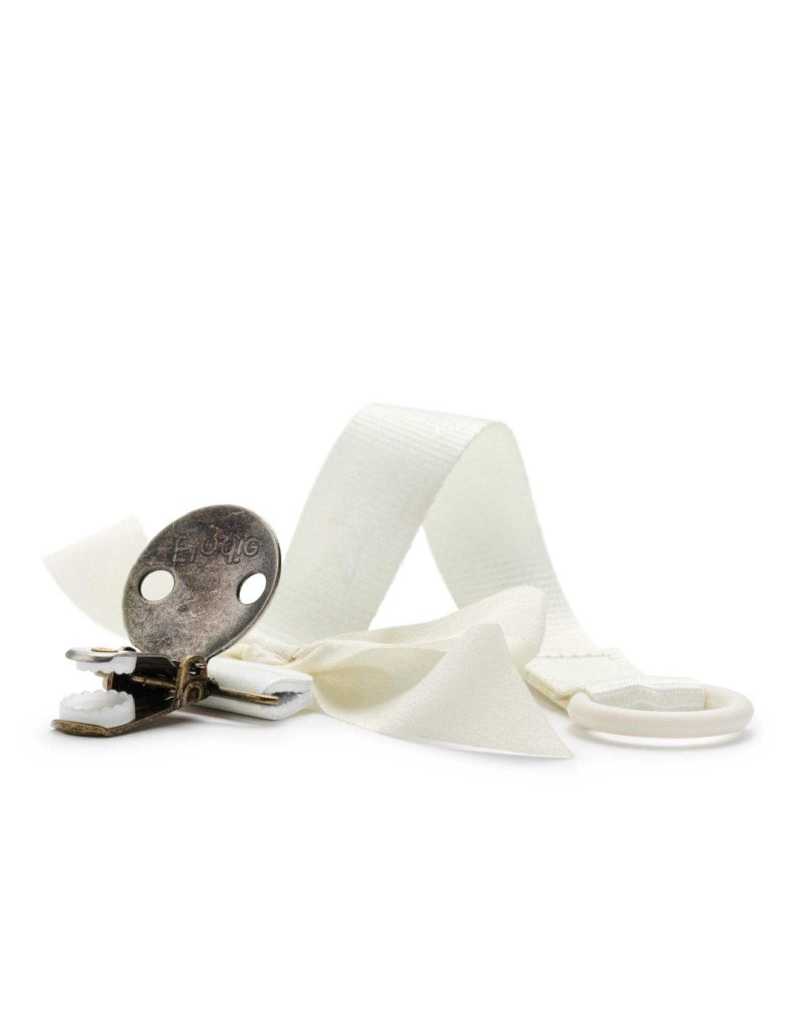 Elodie Details Attache sucette noeud - vanilla white