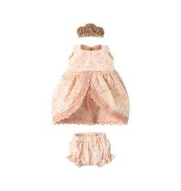 MAILEG Micro & Mouse, Princess dress, rose