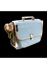 Caramel & Cie Cartable maternelles ailes - Bleu ciel