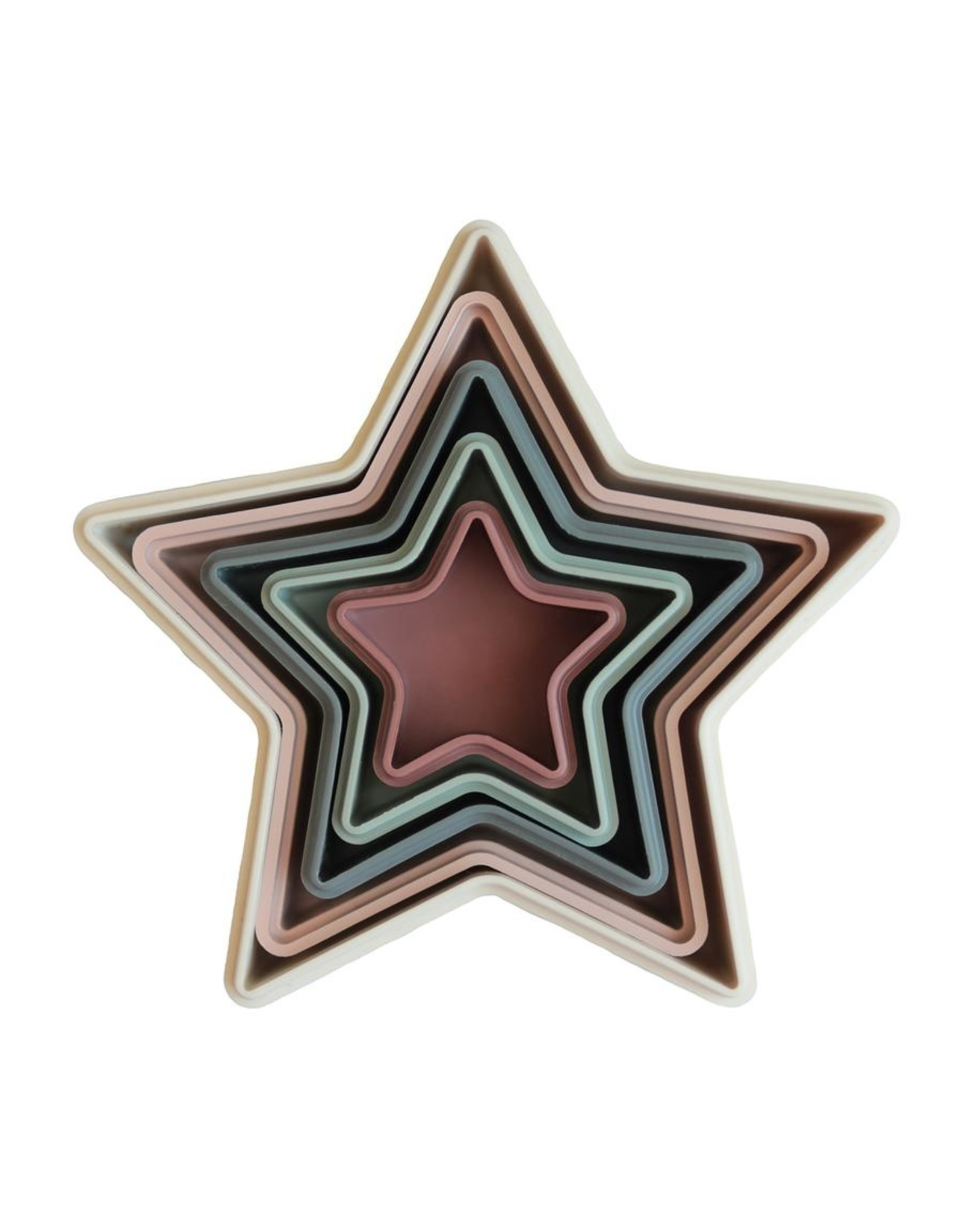 Mushie Nesting Stars - jeu à empiler