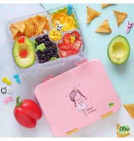 Citron Lunch box - rose - princesse - 4 compartiments