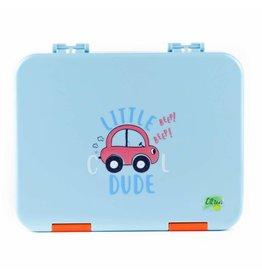 Citron Lunch box - bleu - voiture - 4 compartiments