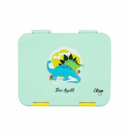 Citron Lunch box - verte- dino- 4 compartiments