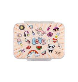 Citron Lunch Box ado - Diva - 4 compartiments