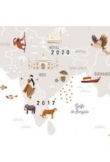 Mes petites Dates Affiche 'Mes petits voyages'