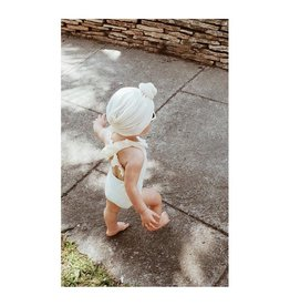 Mlle Beuz Bonnet / turban noeud - nude