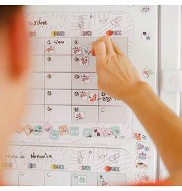 Atelier Gigogne Organisateur familial mensuel