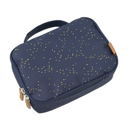 Fresk Lunch Bag - Indigo Dots