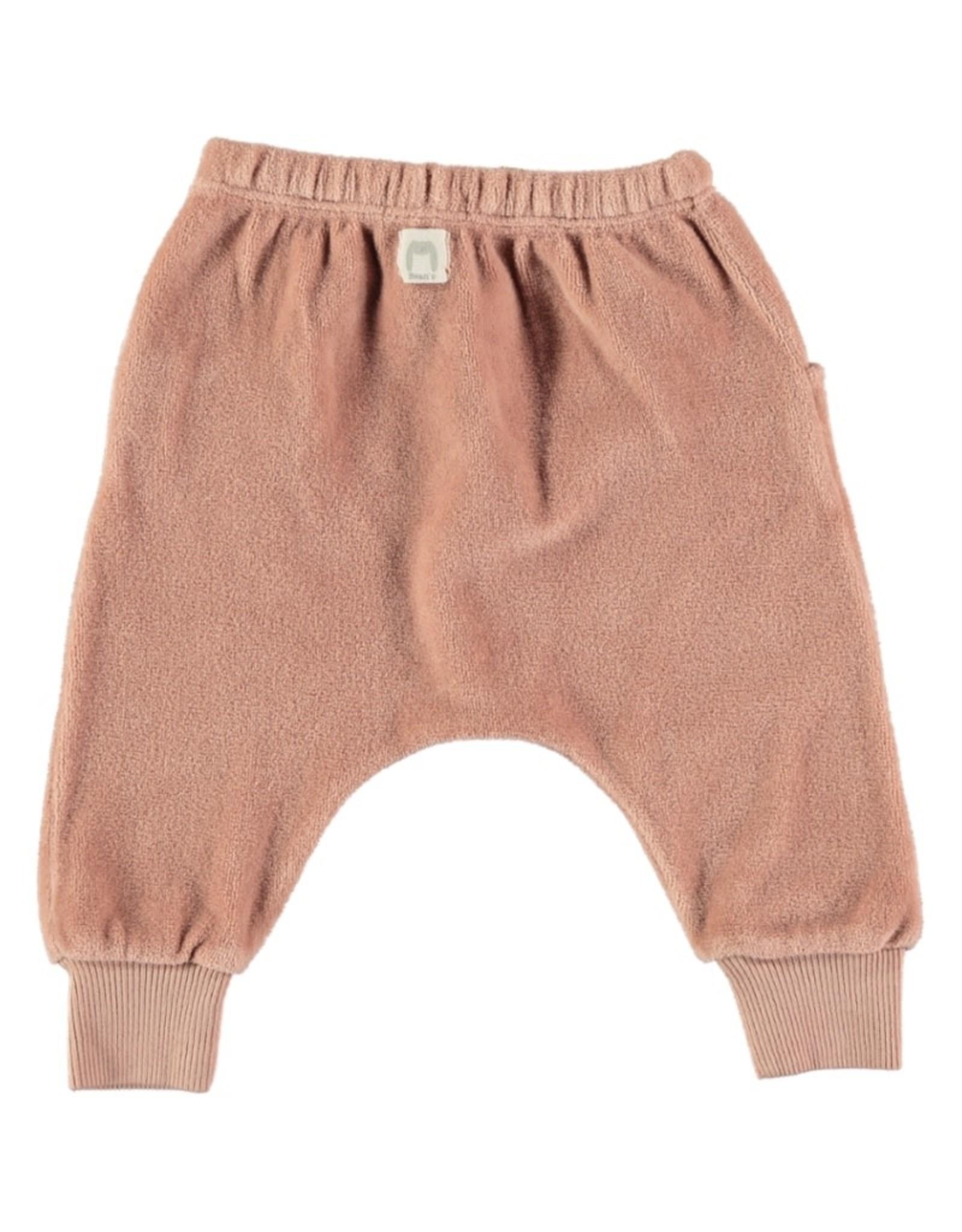 Bean's BRUNO - pantalon en velours - rose