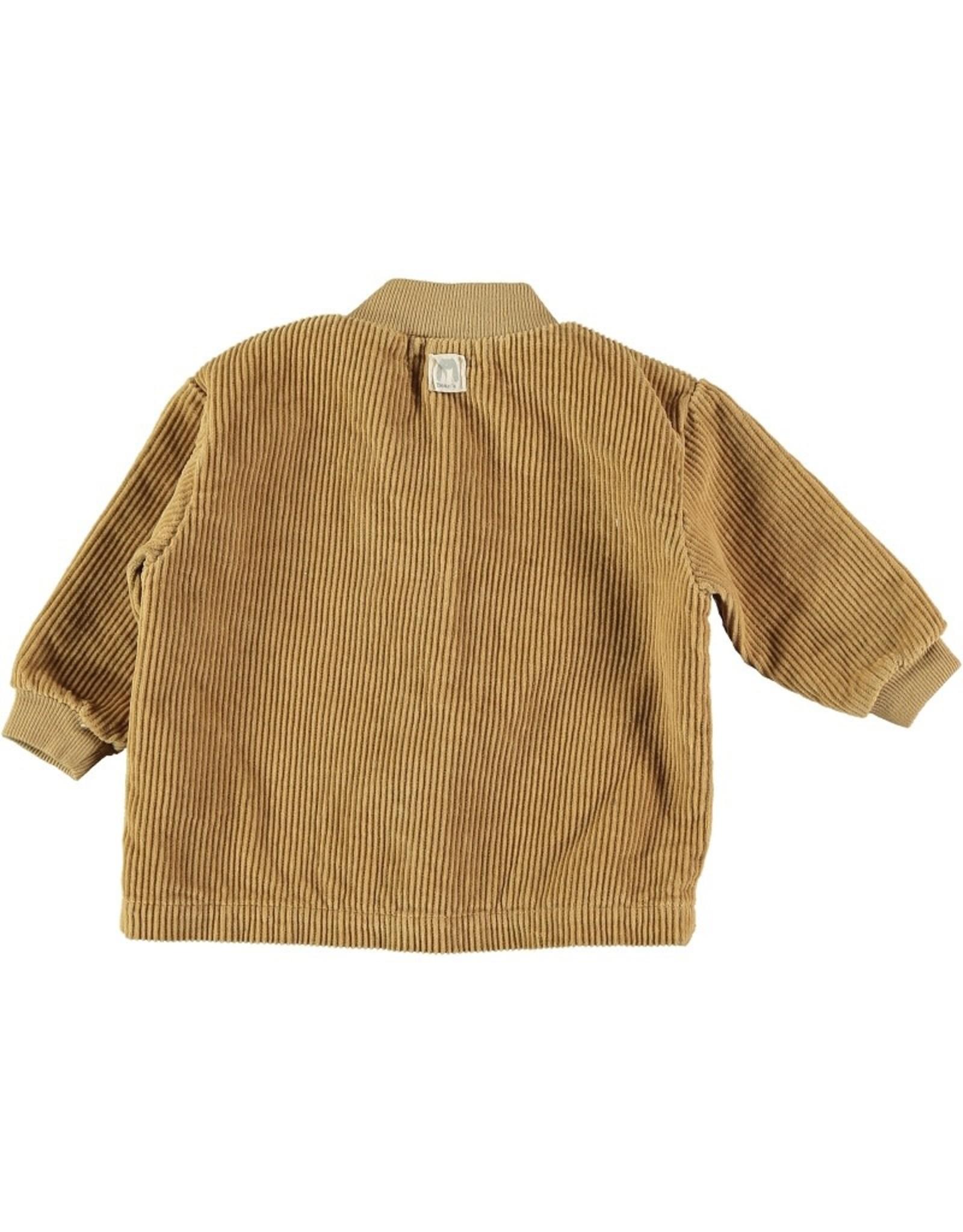 Bean's PEP - veste en velours côtelé - moutarde