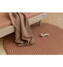 nobodinoz Kiowa carpet - Sienna brown