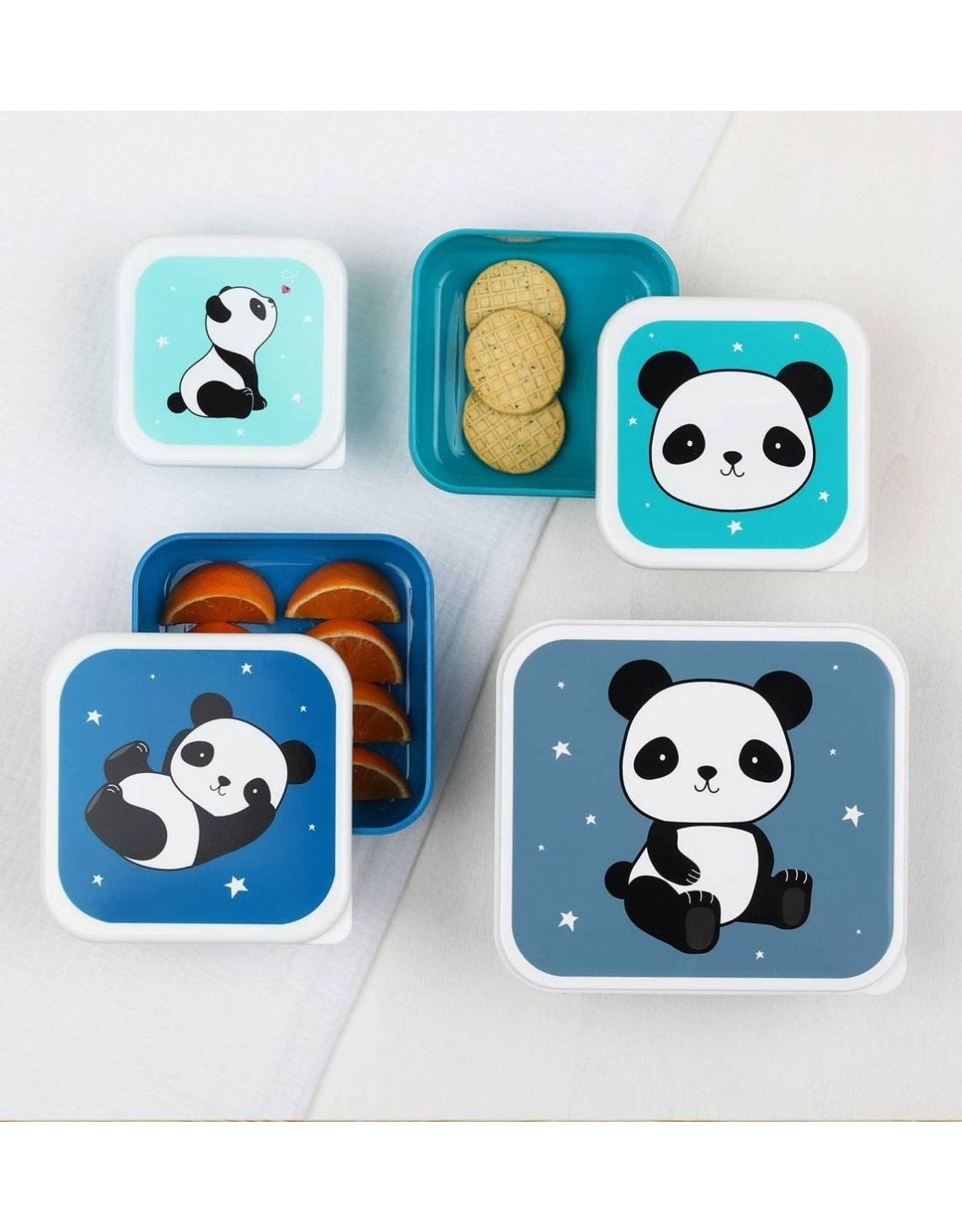 A Little Lovely Company Lot 4 boites PANDA