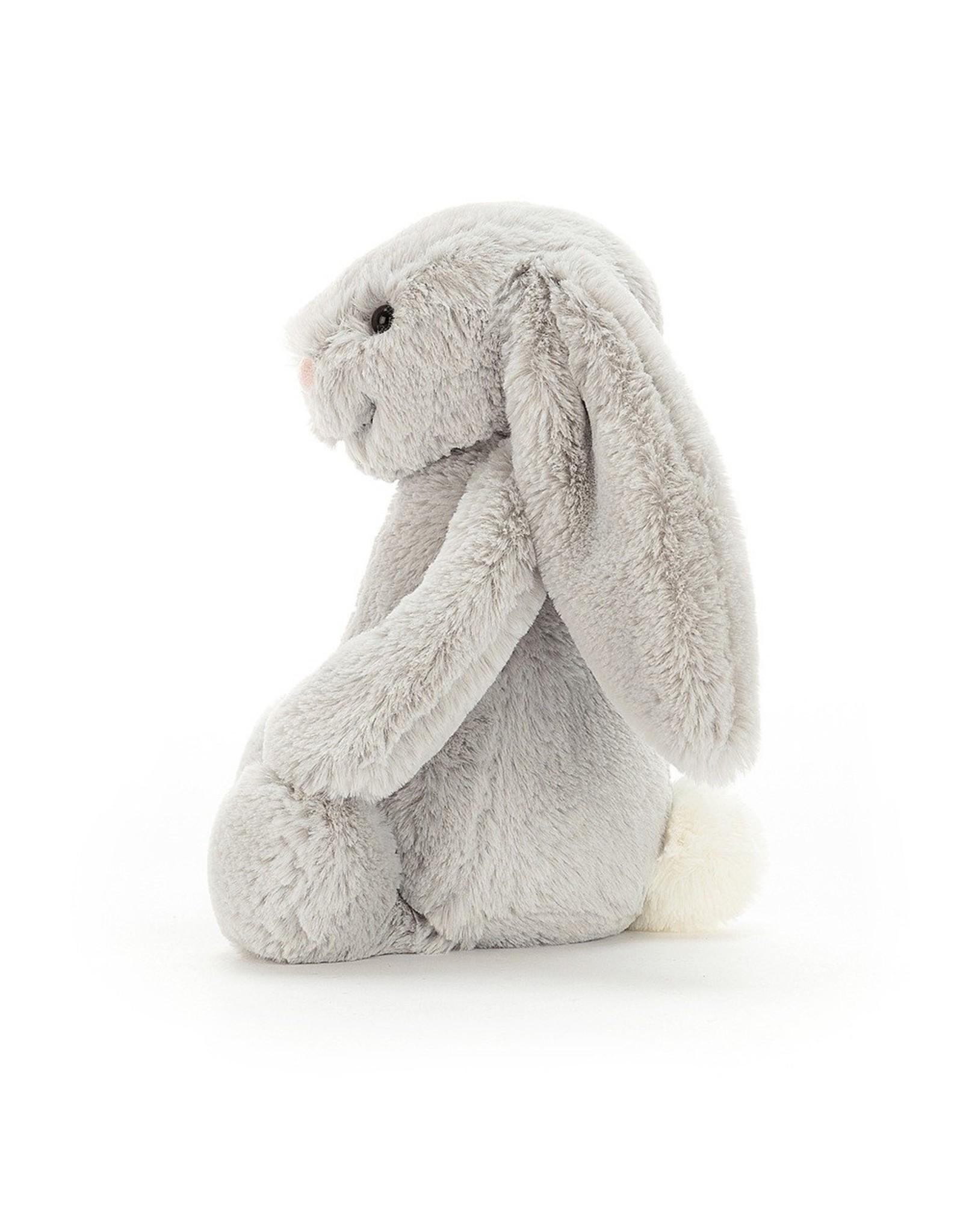 Jellycat Bashful bunny  Silver - Huge
